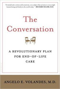 "Angelo Volandes, a physician and noted expert on Advance Care Planning, discusses his book, ""The Conversation: A Revolutionary Plan for End-of Life Care,"" on Tuesday, Oct. 4, from 6:30-7:30 p.m. at the Coralville Center for the Performing Arts."